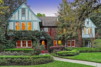 Houston Single Family Home For Sale: 1620 South Boulevard