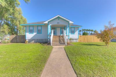 Galveston Single Family Home For Sale: 614 34th Street