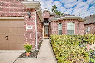 Dickinson Single Family Home For Sale: 1059 Misty Cliff