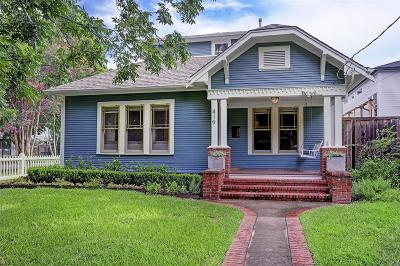 Houston Single Family Home For Sale: 419 W 12th Street