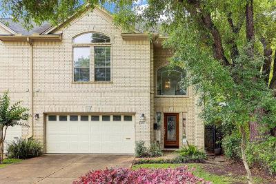 Houston Condo/Townhouse For Sale: 4021 Lanark Lane