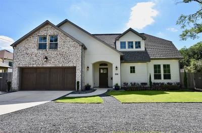 Houston Single Family Home For Sale: 1607 Woodvine Drive