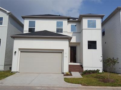 Houston Single Family Home For Sale: 318 Yale Oaks Lane