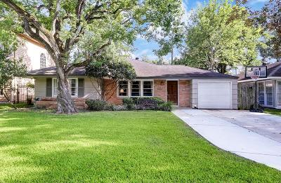 Bellaire Single Family Home For Sale: 5205 Patrick Henry Street
