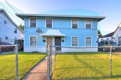 Houston Multi Family Home For Sale: 5623 Barremore Street #1-4