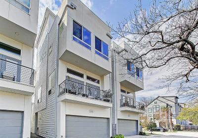 Houston Single Family Home For Sale: 1205 Jackson Boulevard #D