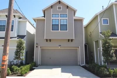 Houston Single Family Home For Sale: 408 E 26th Street
