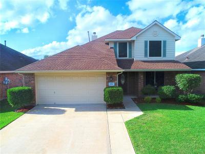 Deer Park Single Family Home For Sale: 2522 Cloudcroft Drive
