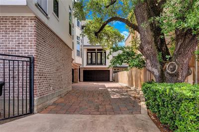 Houston Condo/Townhouse For Sale: 5617 Kiam Street #A