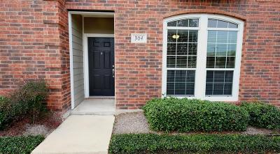College Station Condo/Townhouse For Sale: 305 Holleman Drive E #304