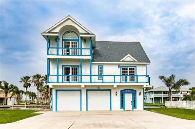 Galveston Single Family Home For Sale: 3806 Tidewater Drive