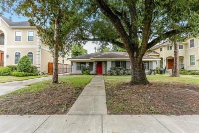Houston Single Family Home For Sale: 3026 Blue Bonnet Boulevard