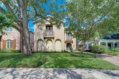 Houston Single Family Home For Sale: 6511 Mercer Street