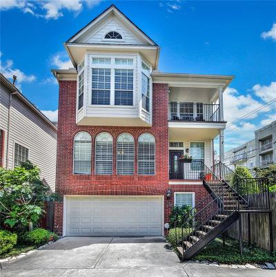 Houston Single Family Home For Sale: 4219 Gibson Street #A