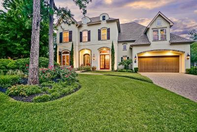 The Woodlands TX Single Family Home For Sale: $875,000