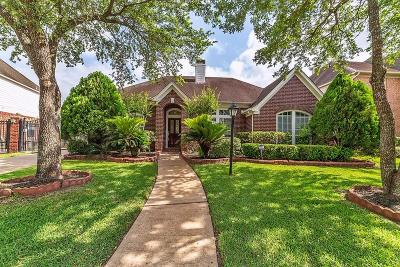 Galveston County, Harris County Single Family Home For Sale: 12307 Shadow Green Drive