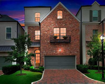 The Woodlands Single Family Home For Sale: 110 Gateway Park Place