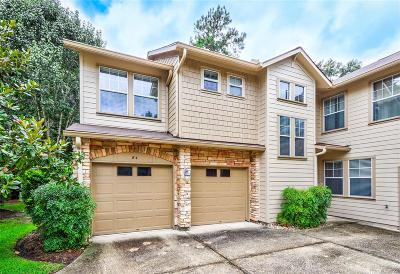 The Woodlands Condo/Townhouse For Sale: 84 Woodlily Place