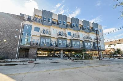 Houston Condo/Townhouse For Sale: 1011 Studemont Street #108