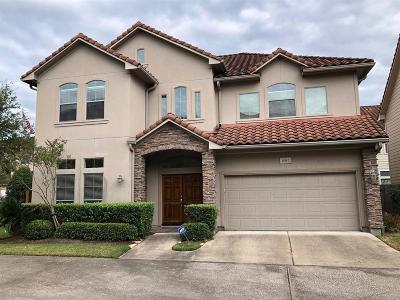 Houston Condo/Townhouse For Sale: 1455 Springrock Lane #C