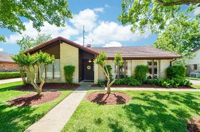 Houston Single Family Home For Sale: 2310 Straight Creek Drive
