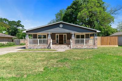 Houston Single Family Home For Sale: 4522 Randwick Drive