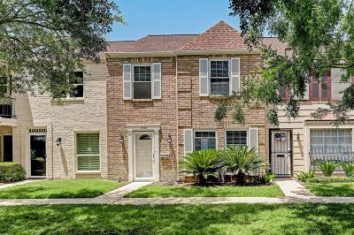 Houston Condo/Townhouse For Sale: 14465 Still Meadow Drive