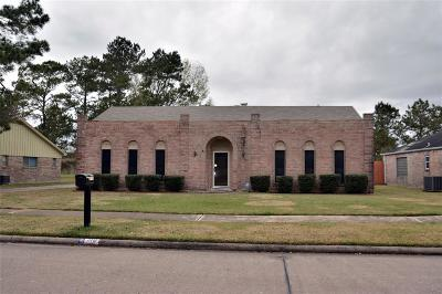 Friendswood Single Family Home For Sale: 318 W Castle Harbour Drive