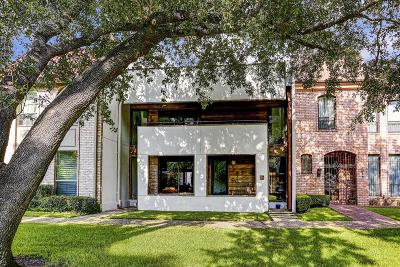 Houston Condo/Townhouse For Sale: 7916 Woodway Drive