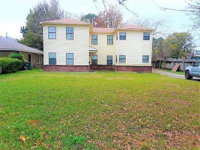 Houston Multi Family Home For Sale: 4331 Tulane Street #1 2