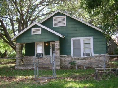 Van Vleck Single Family Home For Sale: 1604 5th Street