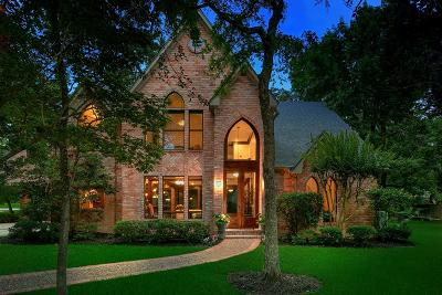 The Woodlands Single Family Home For Sale: 14 E Sunlit Forest Drive