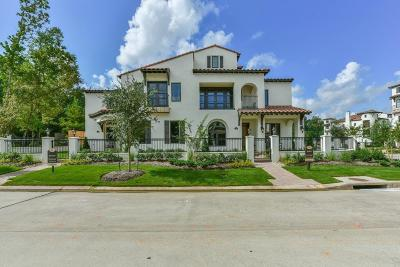 The Woodlands Condo/Townhouse For Sale: 110 Lakeside Cove