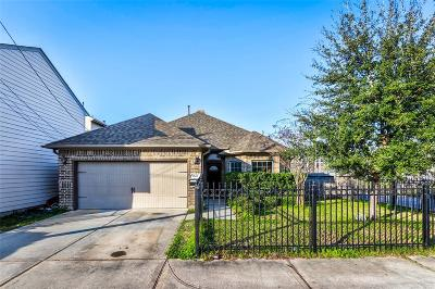 Houston Single Family Home For Sale: 1502 Robin Street