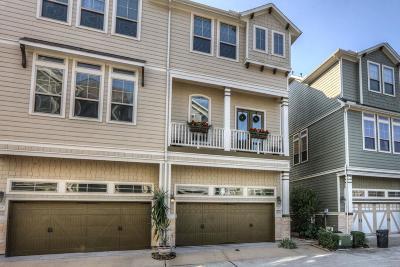 Houston Condo/Townhouse For Sale: 1257 Hobbs Reach Lane