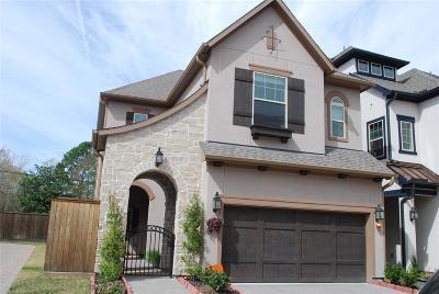 Houston Single Family Home For Sale: 1709 Waterbury Way