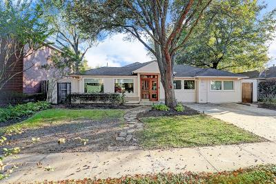 Bellaire Single Family Home For Sale: 4527 Holt Street