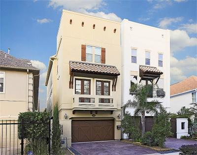 Houston Condo/Townhouse For Sale: 6526 Pickens Street
