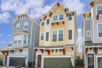 Houston TX Single Family Home For Sale: $355,000