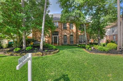The Woodlands Single Family Home For Sale: 73 N Sunny Slope Circle