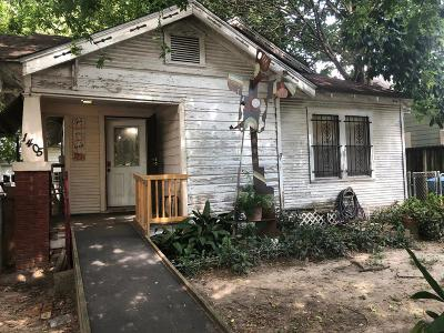 Houston Single Family Home For Sale: 1405 Walton Street