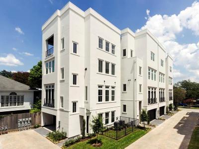Montrose Condo/Townhouse For Sale: 4442 Yoakum Boulevard