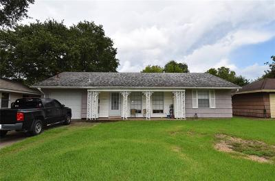 Houston Single Family Home For Sale: 8527 Dillon Street