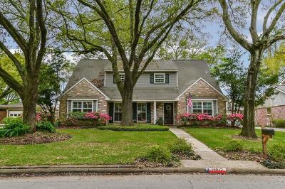 Houston TX Single Family Home For Sale: $489,000