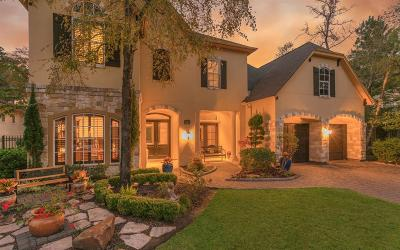 The Woodlands Single Family Home For Sale: 55 Golden Scroll Cir Circle
