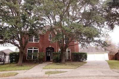 Sugar Land Single Family Home For Sale: 2106 Thistlerock Lane