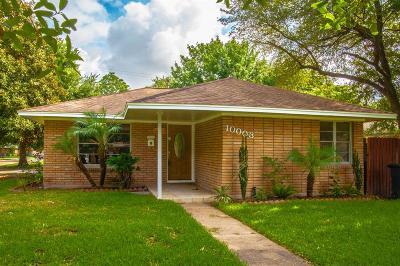Houston Single Family Home For Sale: 10003 Bessemer Street