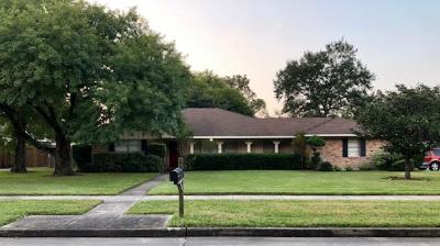 Jersey Village Single Family Home For Sale: 15602 Lakeview Drive