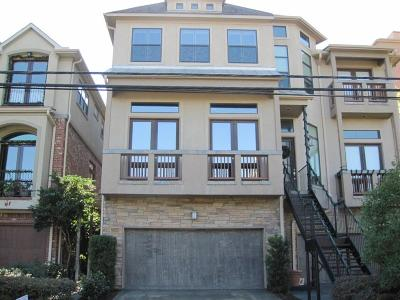 Houston Condo/Townhouse For Sale: 2330 Camden Drive