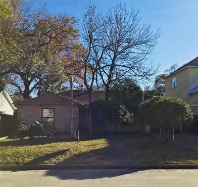 Houston Single Family Home For Sale: 914 W 16th Street